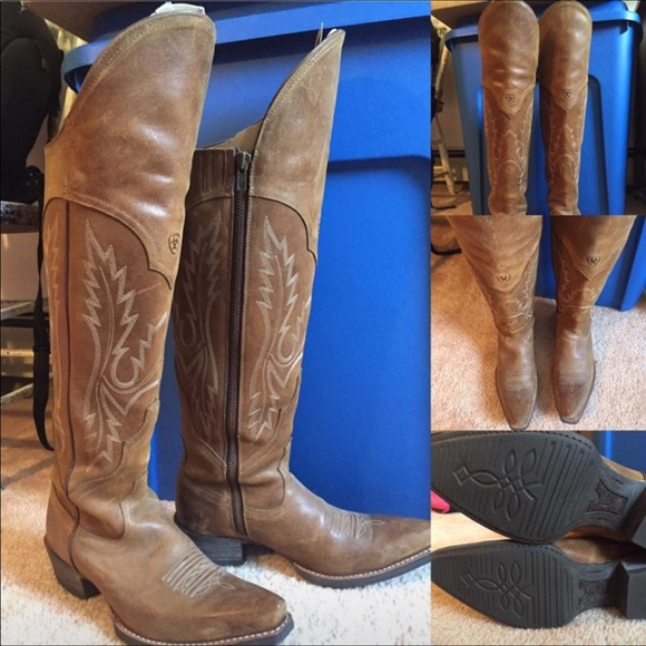 5644950adf6 Ariat Shoes - Ariat Knee-high cowgirl boots